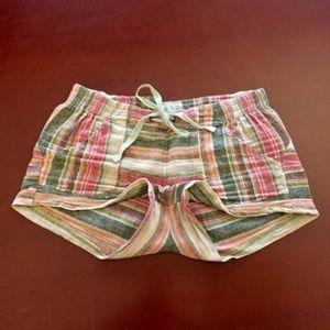 Jolt Multi-Striped Lounge Shorts Size S